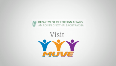 Irish Department of Foreign Affairs travelled to the MUVE office
